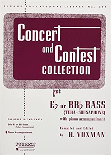 Bitorrent Descargar Concert And Contest Collection For Bass/tuba (b.c.): Piano Accompaniment Libro PDF