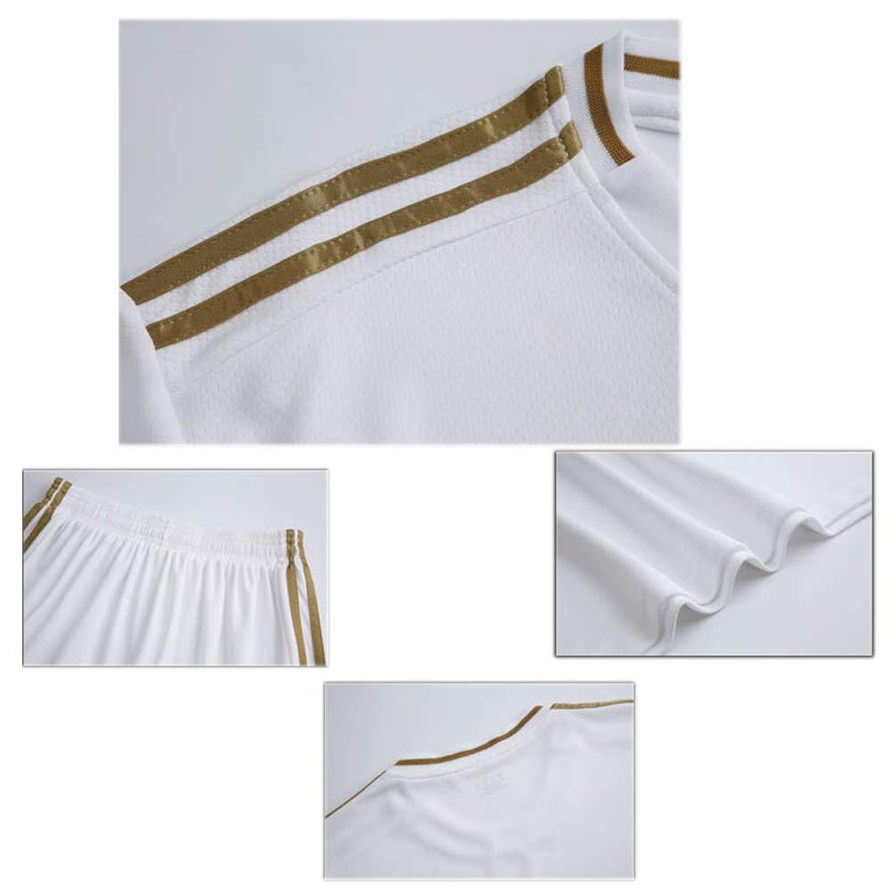 HANGESS Offizielles Spanisches Trikot Football Club No.4 Kids Sportswear Fu/ßballbekleidung T-Shirt M/änner Und Frauen Fu/ßball Sweatshirts Shorts Set