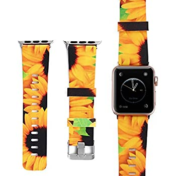 Amazon.com: Sunflowers compatible with Apple Watch Band