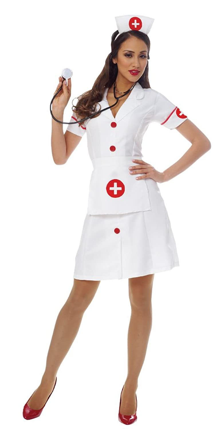 sc 1 st  Amazon.com & Amazon.com: Costume Culture Womenu0027s Classic Nurse Costume: Clothing