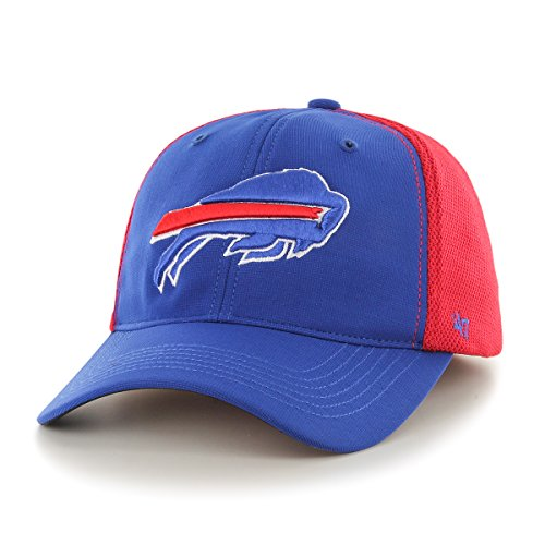 - '47 NFL Buffalo Bills Draft Day Closer Stretch Fit Hat, One Size, Sonic Blue