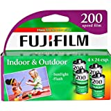 FujiFilm ISO 200 35mm Color Print Film - 24 Expos