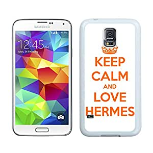 Lovely And Unique Designed Cover Case For Samsung Galaxy S5 I9600 G900a G900v G900p G900t G900w With Hermes 13 White Phone Case