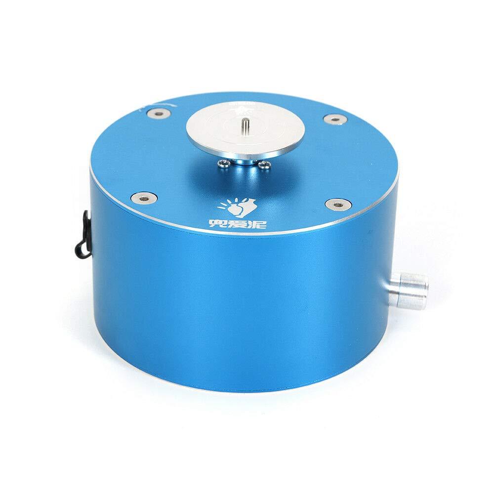WUPYI Mini Ceramic Pottery Machine,DIY Clay Making Pottery Machine 12V Ceramic Molding Machine Handmade Art Craft Production Clay Making Machine 1500RPM (Blue)