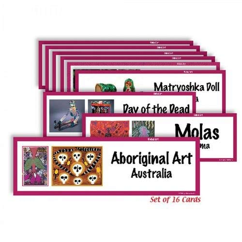American Educational Products CP1813,''Art Display Cards.'' Set, Pack of 20 Sets