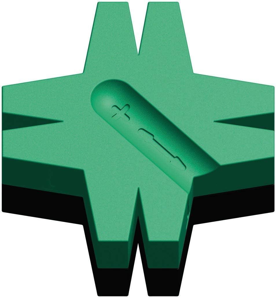 WERA Star - Magnetizador/desmagnetizador, 48,0 mm, color plata 2-Pack: Amazon.es: Oficina y papelería