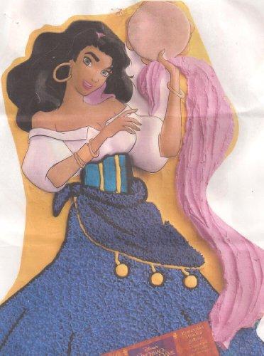 Wilton Cake Pan: Disney Princess Esmeralda ~ Hunchback of Notre Dame (2105-3800, 1996)