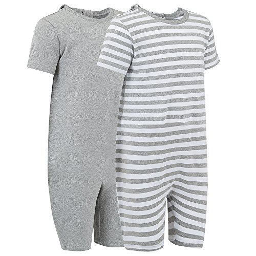 Special Needs Clothing for Older Children (3-16 Yrs Old) - Zip Back Jumpsuit for Boys & Girls by KayCey - Twin Pack (3-4 Years Old)