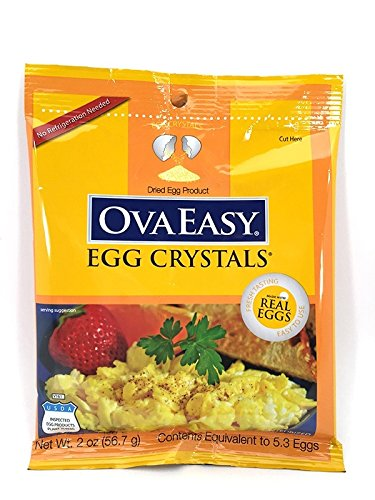 Brown Egg Hash (Ovaeasy Whole Egg Crystals-5)