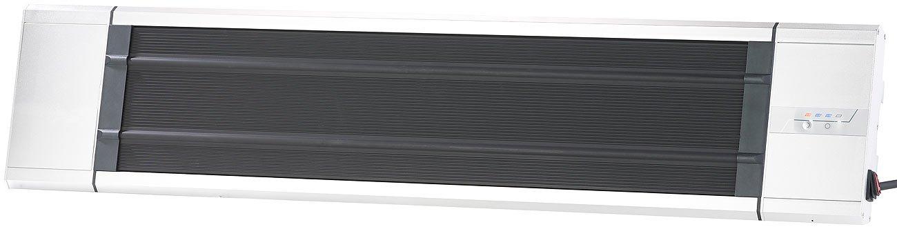 Semptec Urban Survival Technology Infrarot Heizstrahler: IR-Dunkelheizstrahler RA-324 2.400 Watt Infrarot-Dunkelstrahler IP55 Timer /& Fernbedienung