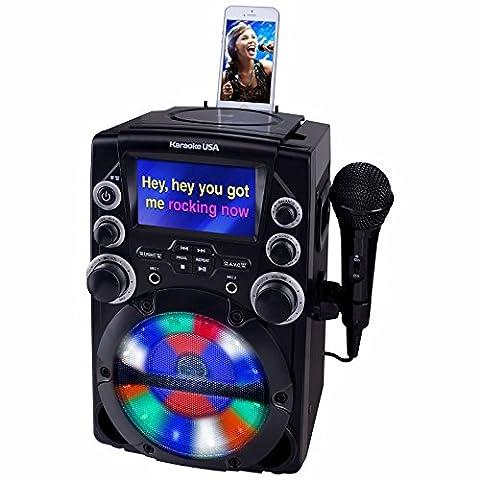 Karaoke USA GQ740 CDG Karaoke System with 4.3