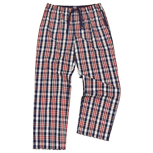 Jockey XXL Pantalones de pijama de cuadros , 2xl-8xl:5xl