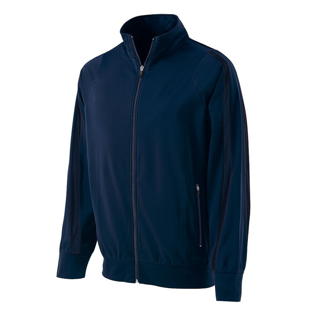 Holloway Youth Determination Jacket (X-Large, Navy/Navy) by Holloway