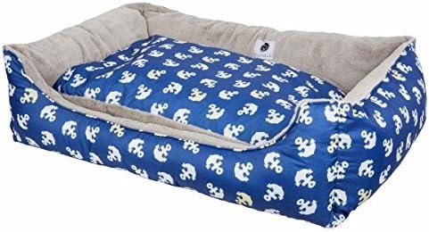 Petique Anchor s Away Reversible Pet Bed
