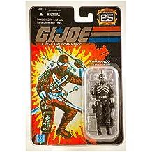 """Hasbro G.I. Joe Hasbro 25Th Anniversary 3 3/4"""" Wave 7 Action Figure Snake Eyes V4 [Commando]"""