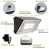 High-Output LED Wall Pack with Photocell,120W