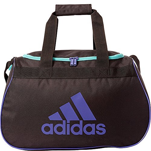 adidas Diablo Duffel Small (Black/Power Purple/Vivid Mint) by adidas