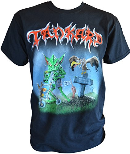 Price comparison product image Tankard One Foot In The Grave T-Shirt L / Large