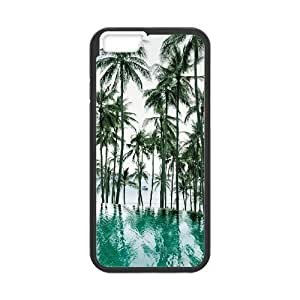 "AKERCY California Beach Palm Tree Phone Case For iPhone 6 (4.7"") [Pattern-5]"