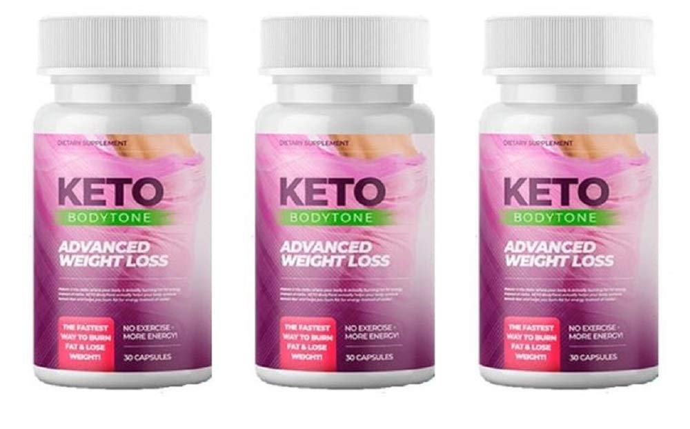 Keto BODYTONE - Advanced Weight Loss - 180 Capsules - 3 Month Supply