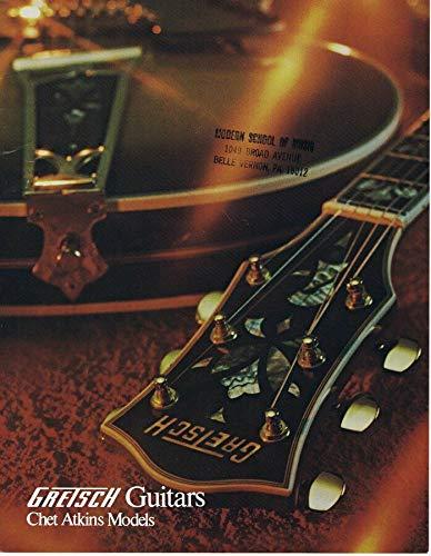- ORIGINAL Vintage 1972 Gretsch Chet Atkins Guitars Catalog