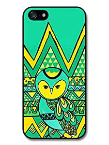Aztec Cute Owl in Funny Illustration Case For Sam Sung Note 4 Cover