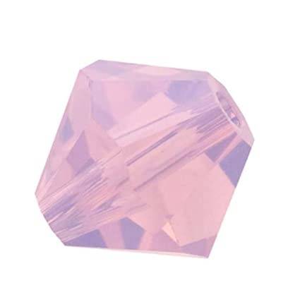 15c4cb4df Amazon.com: 100pcs Genuine Preciosa Bicone Crystal Beads 3mm Rose Opal  Alternatives For Swarovski #5301/5328 #preb349: Everything Else