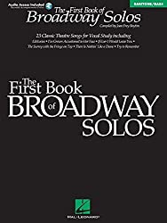 First Book of Broadway Solos: Baritone/Bass Edition with online audio by Boytim, Joan Frey (2001) Paperback