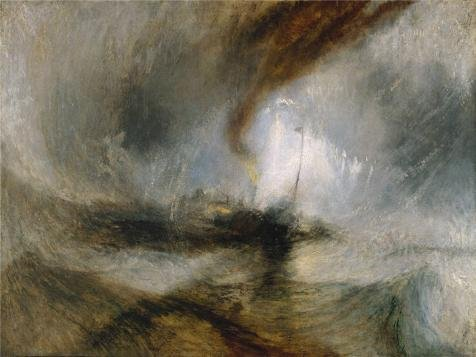 Oil Painting 'Joseph Mallord William Turner - Snow StormSteam-Boat Off A Harbour' s Mouth1842 '12 x 16 inch / 30 x 41 cmon High Definition HD canvas printsBed RoomGame RoomPowder - Vintage Coupon Giant Code