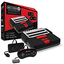 Hyperkin RetroN 2 Gaming Console for SNES/ NES (Black)