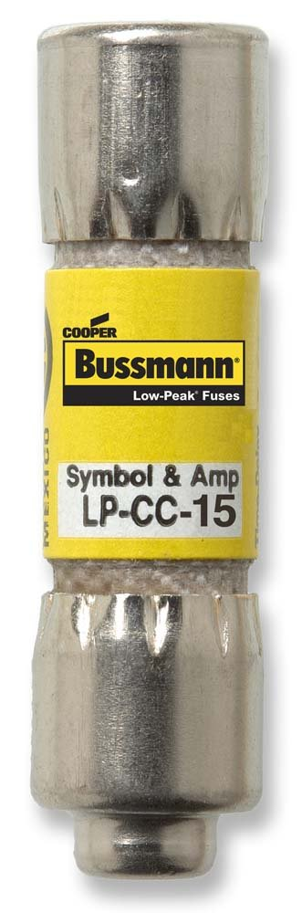 51JEPpLyggL._SL1000_ amazon com bussmann lp cc 15 15 amp low peak time delay current  at gsmx.co