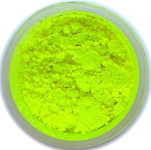 Neon Yellow Petal Dust, 4 gram container