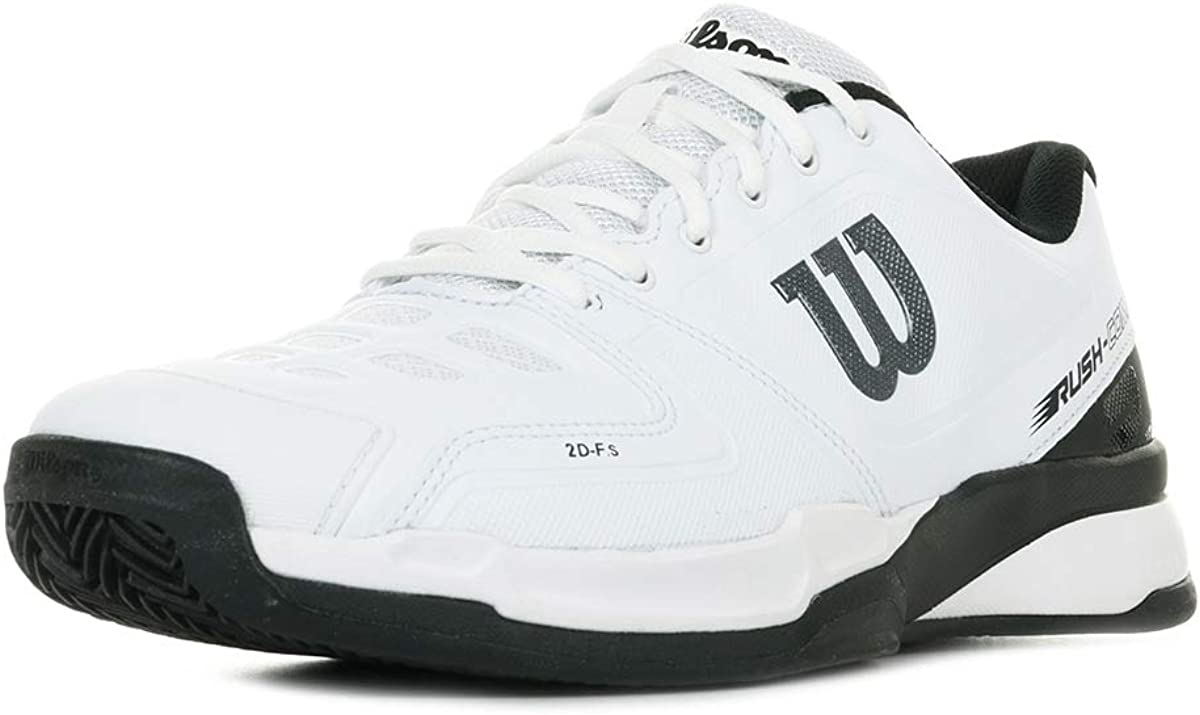 Wilson Rush Comp Clay Court, Zapatillas de Tenis para Hombre, Blanco (White/Black 000), 50 EU: Amazon.es: Zapatos y complementos