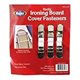 Heavy Duty Ironing Board Cover Fasteners Clips 3 Count