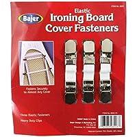 BAJER Elastic Ironing Board Fasteners - 3-Piece Set