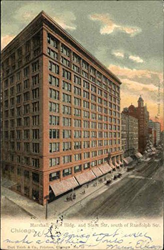marshall-field-bldg-and-slate-str-chicago-illinois-original-vintage-postcard