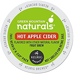 Green Mountain Naturals 6201 Hot Apple Cider K-Cups, 24/box