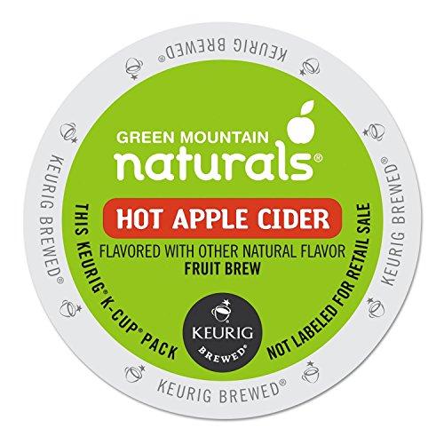 Green Mountain Naturals 6201 Hot Apple Cider K-Cups, 24/box