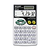 Sharp EL344RB EL344RB Metric Conversion Wallet Calculator 10-Digit LCD
