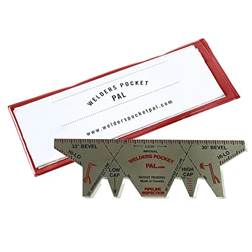 WELDERS POCKET PAL Pipeline Inspection Model - Welding Gauge / Tool for Welders and Inspectors