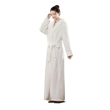 605314863e Noche De Albornoz De Franela para Vintage Adultos Unisex Calentamiento Ella  Bata Cálida Abrigo De Sauna Pijamas para Sauna  Amazon.es  Ropa y accesorios