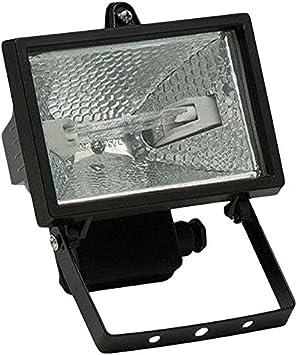 Famatel - Proyector halogeno 500w ip54 negro: Amazon.es: Bricolaje ...