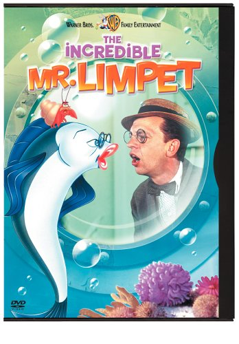 The Incredible Mr  Limpet  Snap Case Packaging
