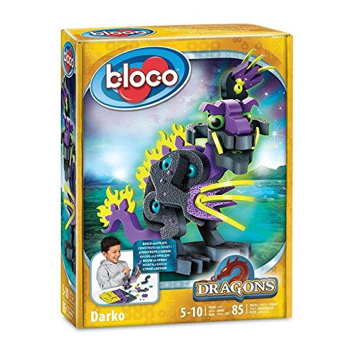 - Style Me Up Bloco - 3D Foam Dragon Building Kit - Construction Set for Kids - DIY Kids Craft Set for Boys - SMU-30511