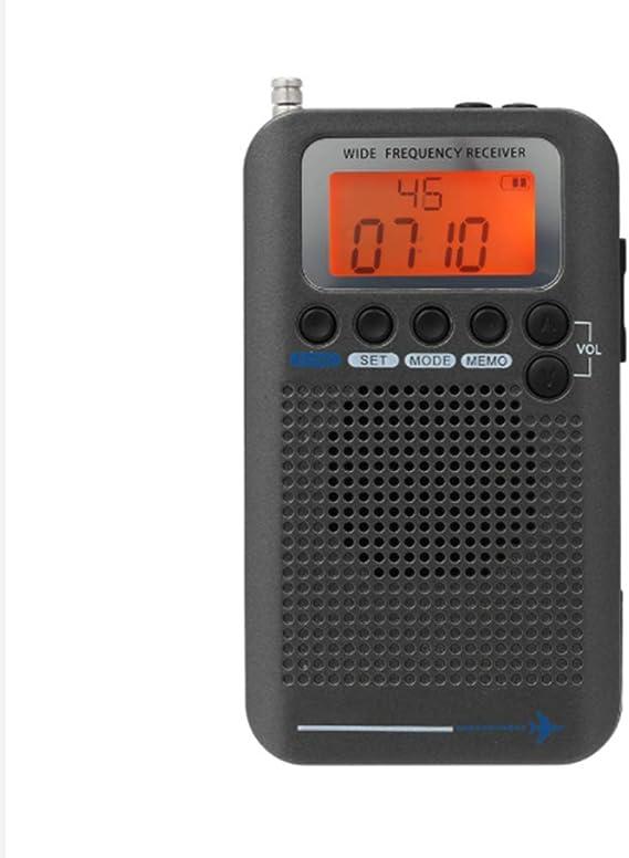 Receptor de Radio FM portátil Aircraft FM/Am/SW/CB/Air/VHF ...