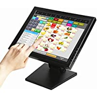 Wearson POS Monitor Display 15 inch Touch Screen LCD Computer Display Monitor With Heavy Stand