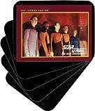 (100) Horizontal Trading Card Divider Cards - Black - Heavy Duty 30 Mil- 2-3/4'' x 3-3/4'' TCNS28BK30