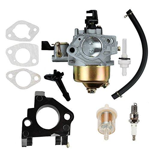 Butom GX390 Carburetor with Fuel Filter Line Gasket for Honda GX 390 GX340 13HP 11HP Engine ()