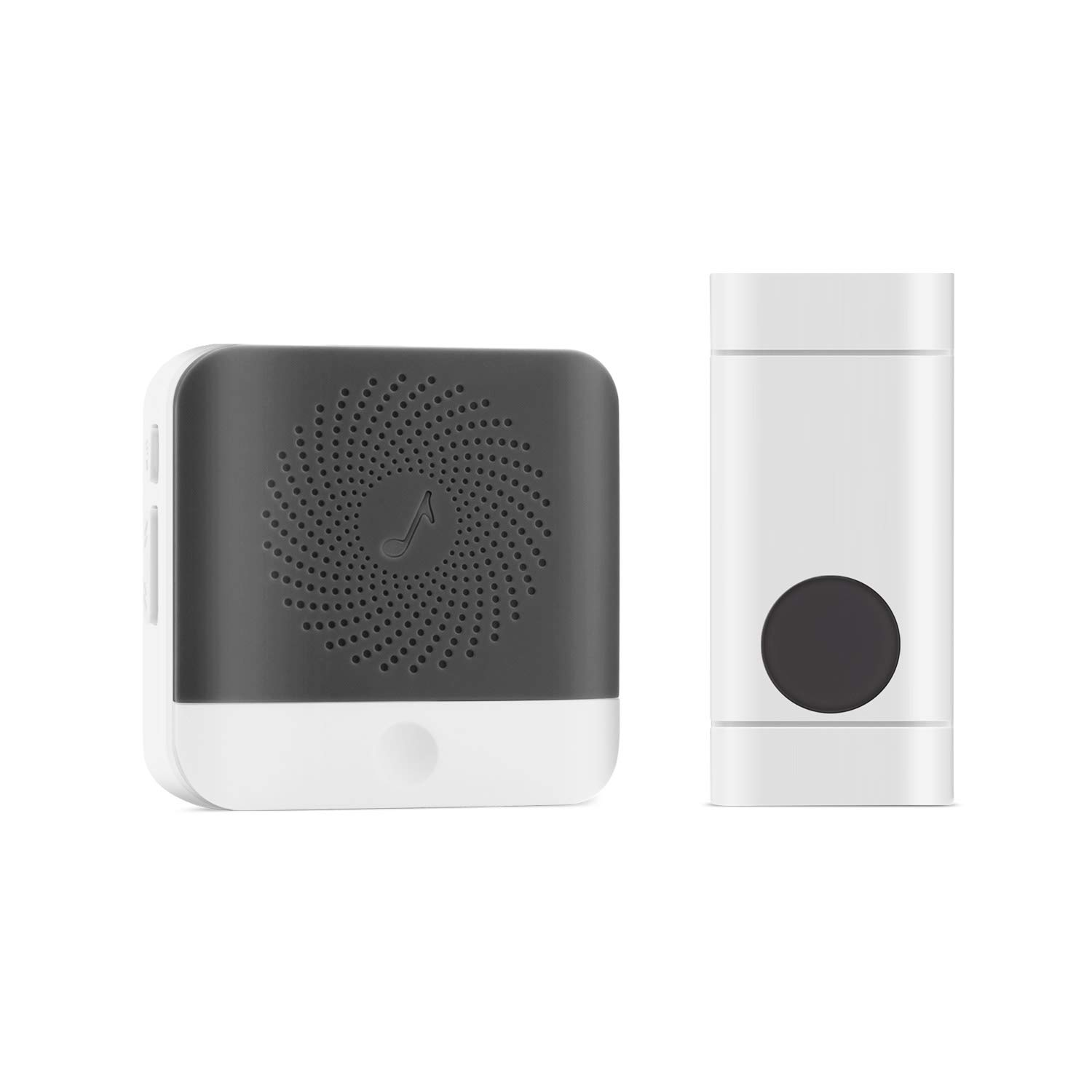 Wireless Doorbell, Waterproof Chime Kit With 52 Chimes,1000 Feet Operating,No Batteries Required For Receiver,1 Transmitter and 1 Receiver with 4 Level Volume Loud Decorative Doorbell