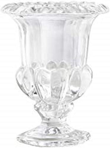Serene Spaces Living Decorative Glass Urn, Centerpiece Vase for Wedding, Event, Set of 2